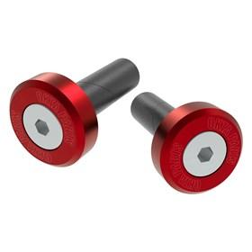 Acabamente de Guidão Okta 13,5 Compatível C/ Guidão Alumínio - Vermelho