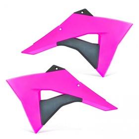 Aleta do Tanque Biker CRF 230 08/18 - Rosa Neon