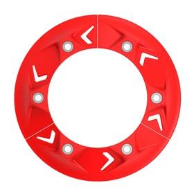 Anti Block Okta Corrente Traseiro CRF 150/230/250F/250/450 CR 125/250 - Vermelho