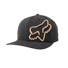 Boné Fox Clouded Flexfit Hat - Preto Dourado