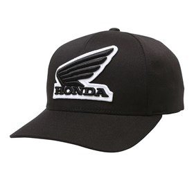 Boné Fox Honda Flexfit Hat - Preto