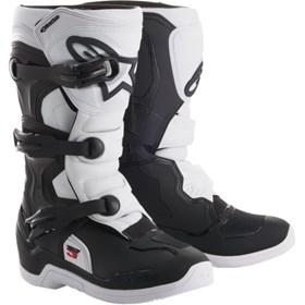 Bota Alpinestars Tech 3S - Preto Branco