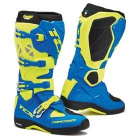 Bota TCX Comp Evo - Azul Amarelo Flúor