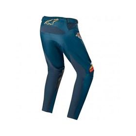 Calça Alpinestars Racer Braap 20 - Azul Marinho Laranja