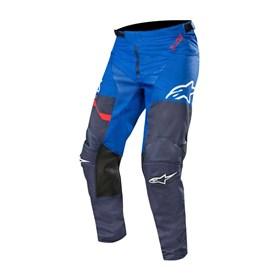 Calça Alpinestars  Racer Flagship 19 Azul Escuro Azul Vermelho