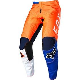 Calça Fox 180 Lovl - Laranja Azul