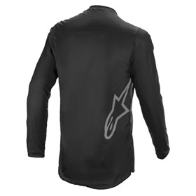 Camisa Alpinestars Fluid Graphite 21 - Preto Cinza
