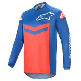 Camisa Alpinestars Fluid Speed 21 - Azul Vermelho
