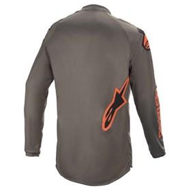 Camisa Alpinestars Fluid Speed 21 - Cinza Laranja