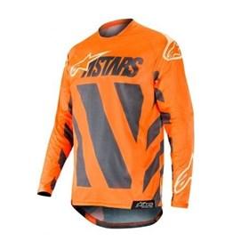 Camisa Alpinestars Racer Braap 19 Infantil - Laranja