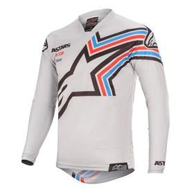Camisa Alpinestars Racer Braap 20 - Cinza Preto
