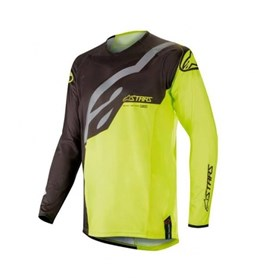 Camisa Alpinestars Racer Factory 19 Infantil - Flúor