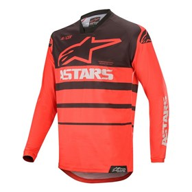 Camisa Alpinestars Racer Supermatic 20 - Vermelho Preto