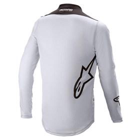 Camisa Alpinestars Racer Supermatic   21 - Cinza Preto