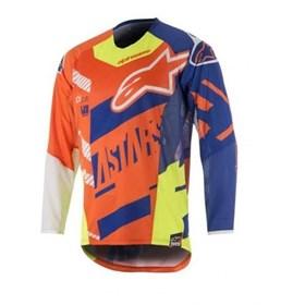 Camisa Alpinestars Screamer Infantil - Laranja