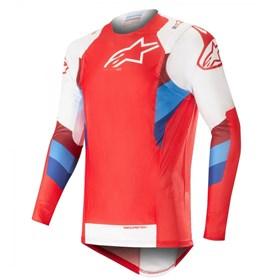 Camisa Alpinestars Supertech 19 Vermelho/branco