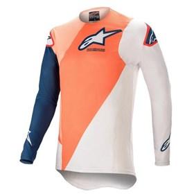 Camisa Alpinestars Supertech Blaze 21 - Laranja Azul