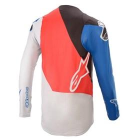Camisa Alpinestars Supertech Blaze 21 - Vermelho Azul