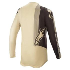 Camisa Alpinestars Supertech Foster 21 - Areia Preto