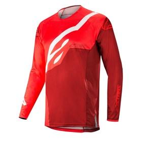 Camisa Alpinestars Techstar Factory 19 Vermelho Borgonha