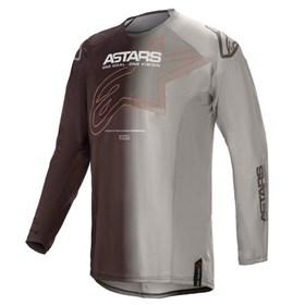 Camisa Alpinestars Techstar Phantom 21 - Preto Laranja