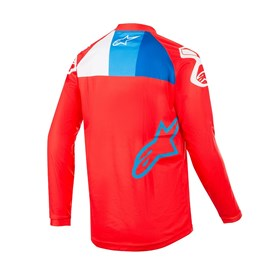 Camisa Alpinestars Venom 19  Vermelho Branco Azul