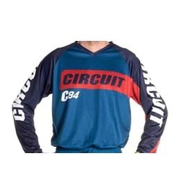 Camisa Circuit Marea - Azul Vermelho