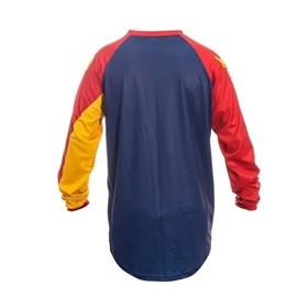 Camisa Circuit Marea - Azul Vermelho Amarelo