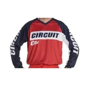 Camisa Circuit Marea - Azul Vermelho Branco