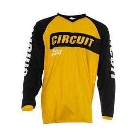 Camisa Circuit Marea - Preto Amarelo Branco
