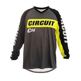 Camisa Circuit Marea - Preto Cinza Verde