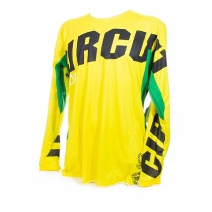 Camisa Circuit Oceano - Amarelo Verde