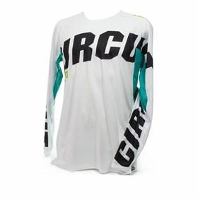 Camisa Circuit Oceano - Branco Verde