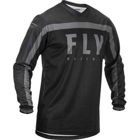 Camisa Fly F-16 - Cinza Preto