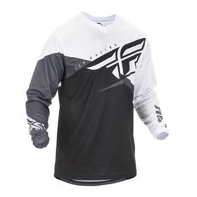 Camisa Fly - F16 Branco Preto