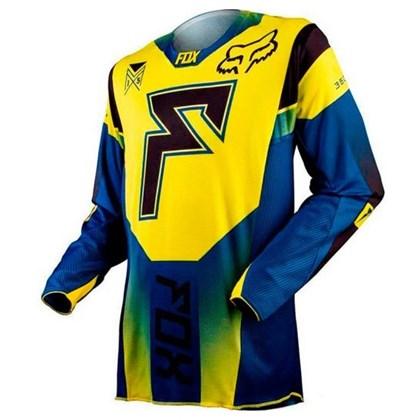 Camisa Fox 360 Franchise - Amarelo