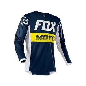Camisa Fox Infantil 180 Fyce - Azul