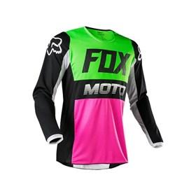 Camisa Fox Infantil 180 Fyce Mult