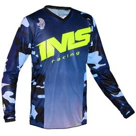 Camisa IMS Army Camo - Azul