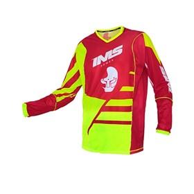 Camisa IMS Power - Vermelho Flúor
