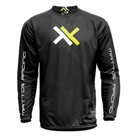 Camisa Mattos Racing Atomic - Amarelo Preto