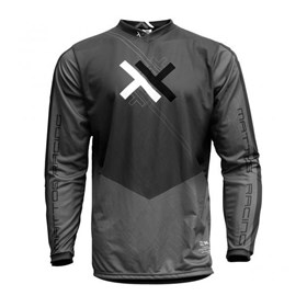 Camisa Mattos Racing Atomic - Cinza Preto