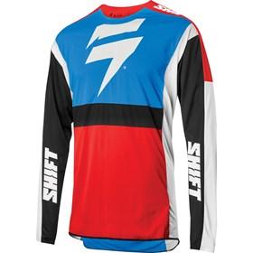 Camisa Shift 3lack Label Race 2 - Azul Vermelho