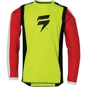 Camisa Shift Infantil Whit3 Race 2 - Amarelo Flúor