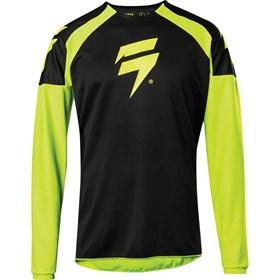 Camisa Shift Whit3 Label Race - Amarelo Flúor