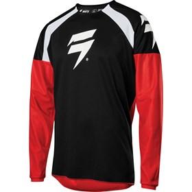 Camisa Shift Whit3 Label Race - Preto Vermelho