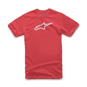 Camiseta Alpinestars Angeless Classic - Vermelho Branco