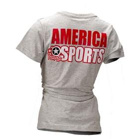 Camiseta AMSP Feminino Off-Road Only - Mescla Cinza