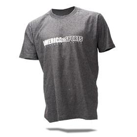 Camiseta AMSP Masculino Off-Road Only - Mescla Chumbo