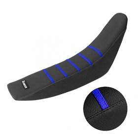 Capa de Banco Biker Gripper WRF/YZF 13 - Preto e Azul